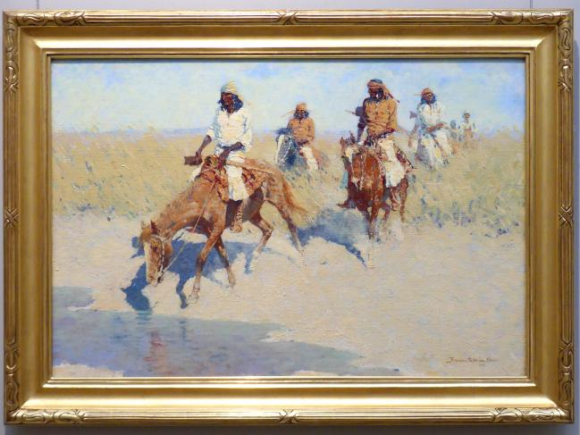 Frederic Remington: Pool in der Wüste, 1907 - 1908