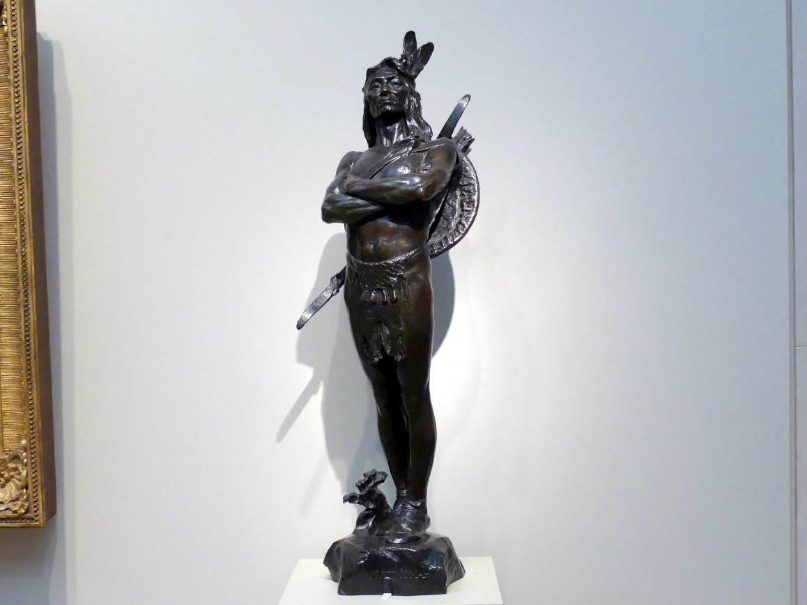 Hermon Atkins MacNeil: Ein Häuptling des Multnomah-Stammes, 1903
