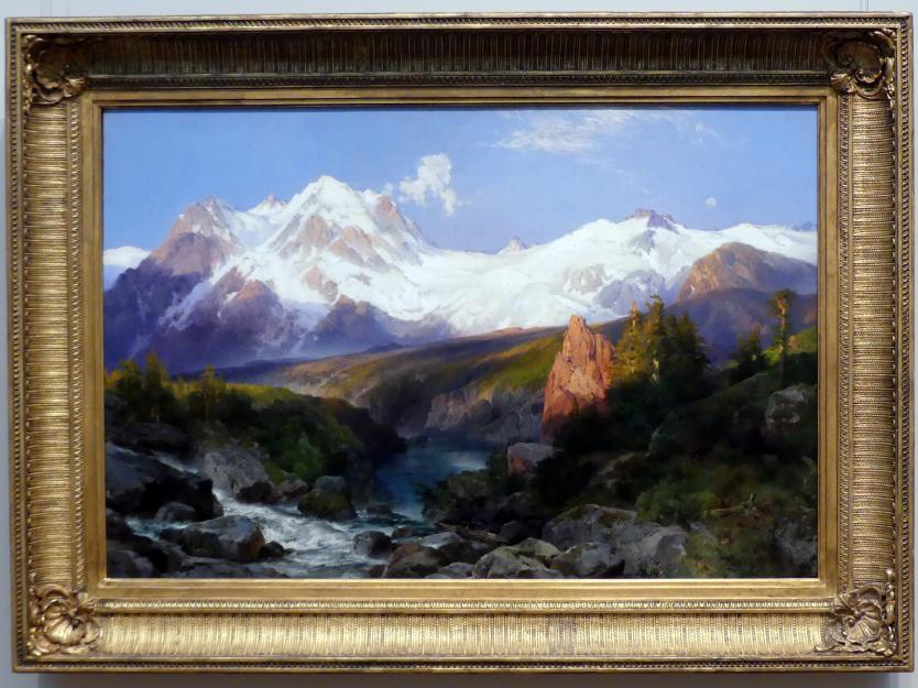 Thomas Moran: Die Teton Range, 1897