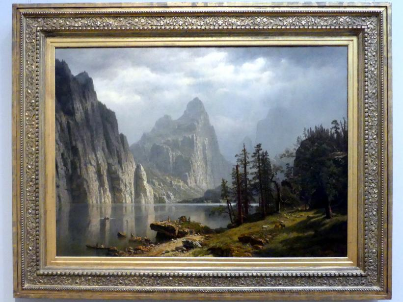 Albert Bierstadt: Merced River, Yosemite Valley, 1866