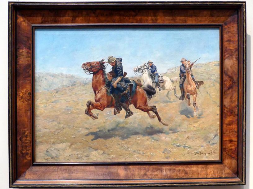 Charles Schreyvogel: Mein Bunkie, 1899