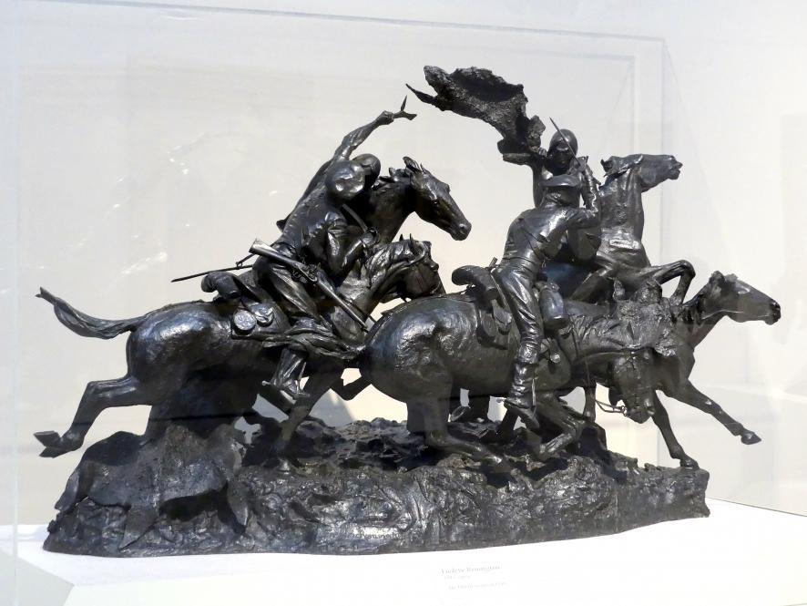 Frederic Remington: Die alten Dragoner von 1850, 1905