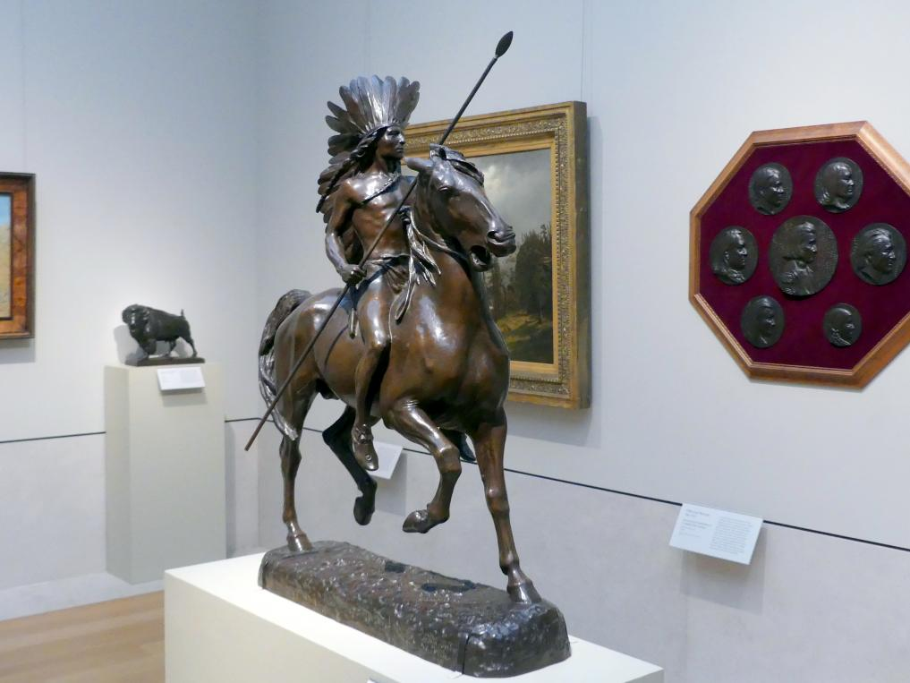 Alexander Phimister Proctor: Indianischer Krieger, 1898