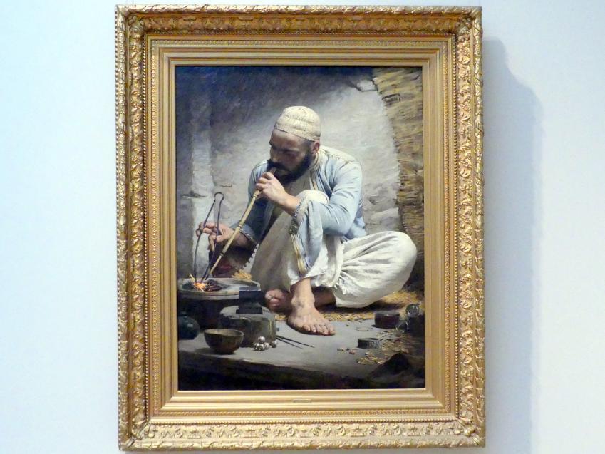 Charles Sprague Pearce: Arabischer Goldschmied, um 1882
