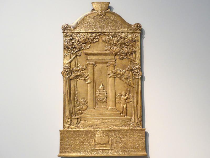 Augustus Saint-Gaudens: Cornish Celebration Presentation Plaque, 1905 - 1906