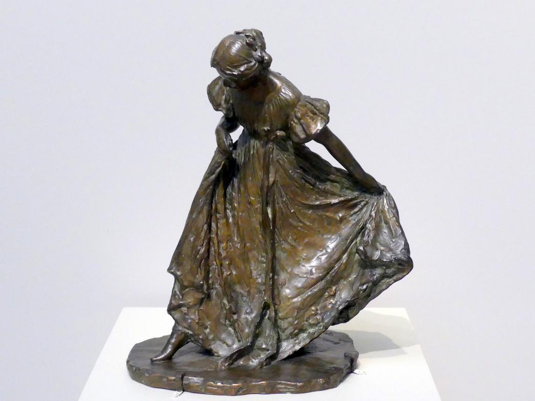 Bessie Potter Vonnoh: Tanzende Frau, 1897