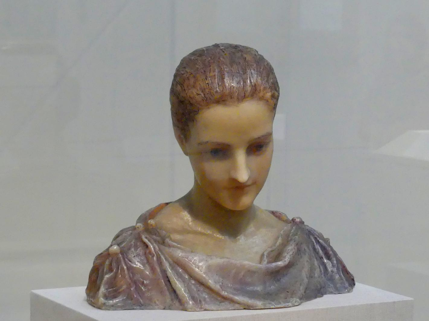 Augustus Saint-Gaudens: Louise Adele Gould, um 1894