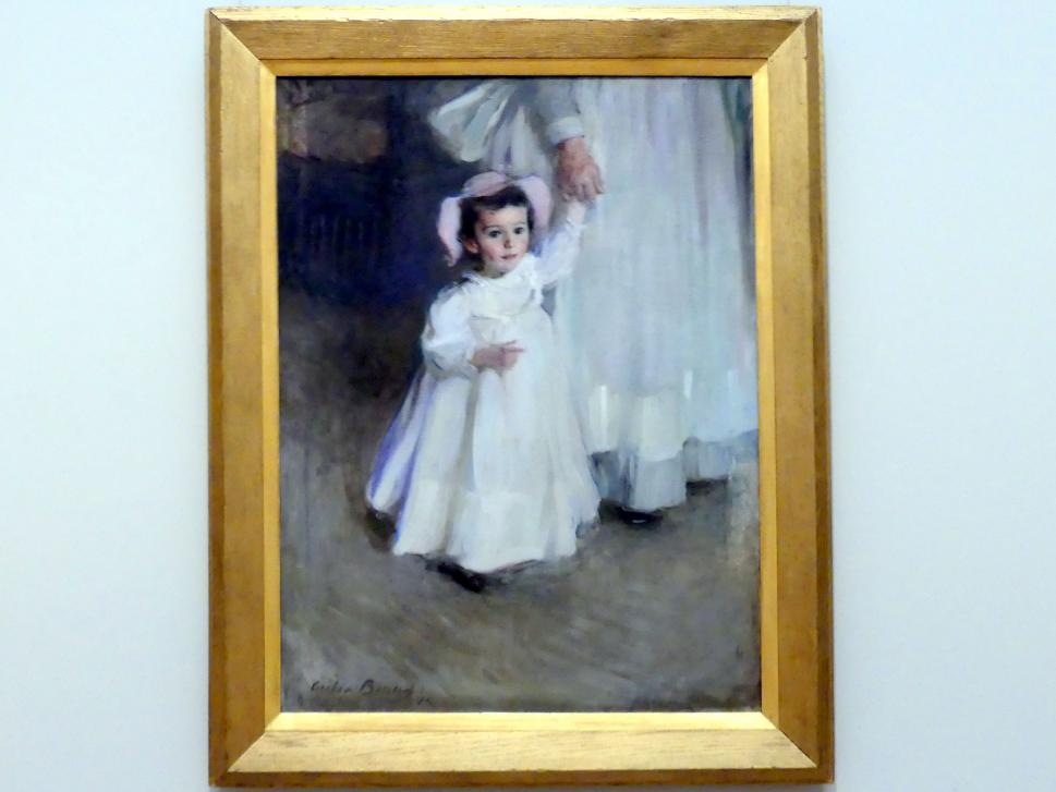 Cecilia Beaux: Ernesta (Kind mit Kindermädchen), 1894