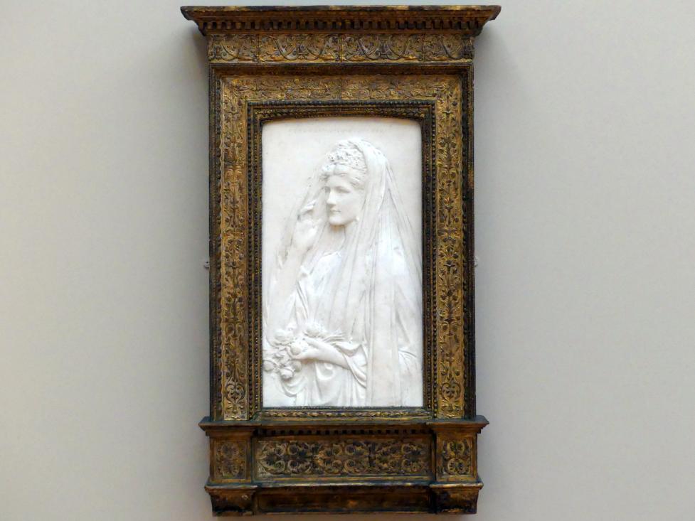 Augustus Saint-Gaudens: Frau Stanford White (Bessie Springs Smith), 1884