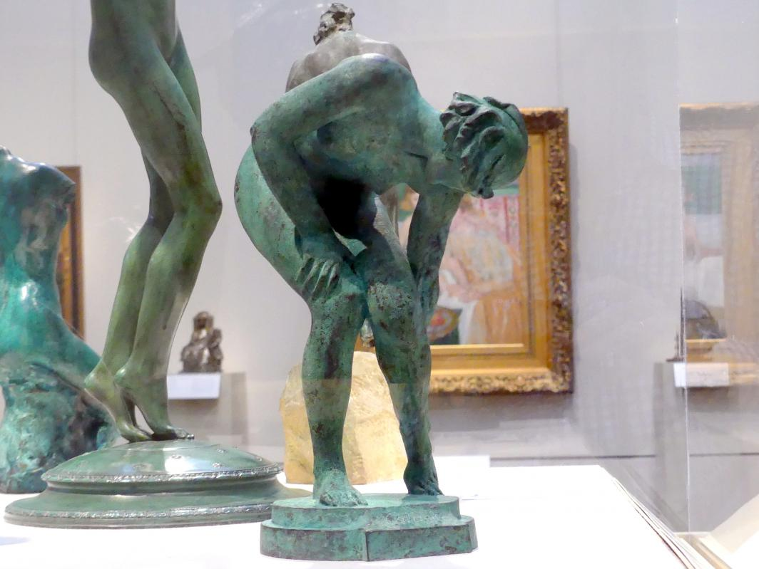 Alexander Stirling Calder: Ihre Ferse kratzend, 1921