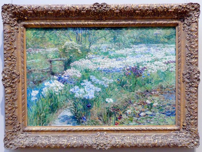 Childe Hassam: Wassergarten, 1909