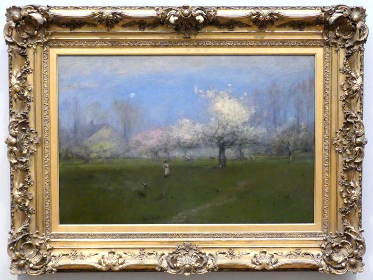 George Inness: Frühlingsblüten, Montclair, New Jersey, um 1891