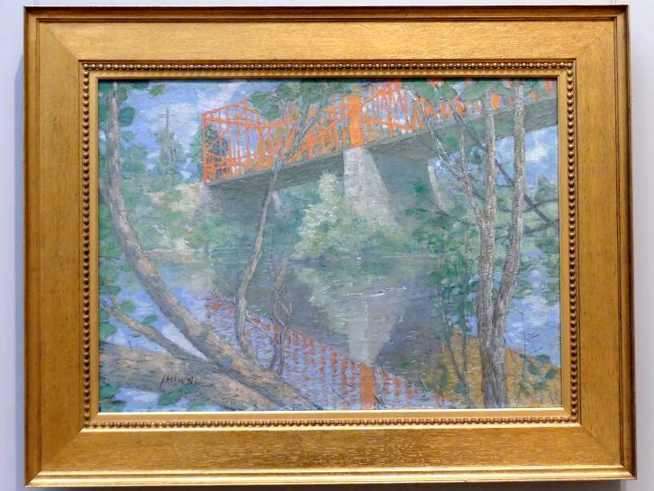 Julian Alden Weir: Die Rote Brücke, 1895