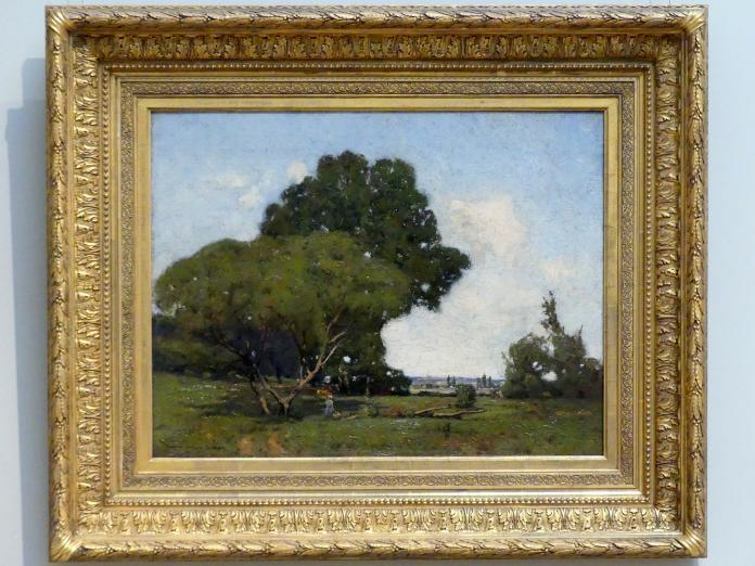 William A. Harper: Bäume, früher Nachmittag, Frankreich, um 1905