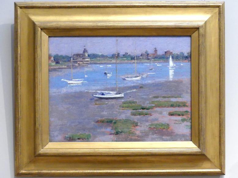 Theodore Robinson: Ebbe, Riverside Yacht Club, 1894