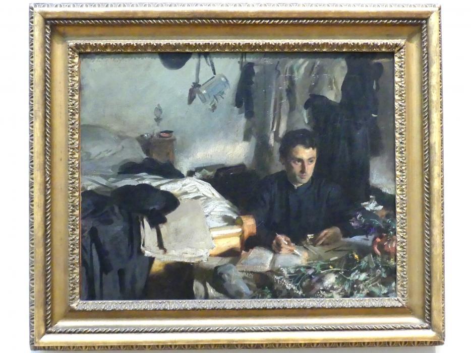 John Singer Sargent: Padre Sebastiano, um 1905 - 1906