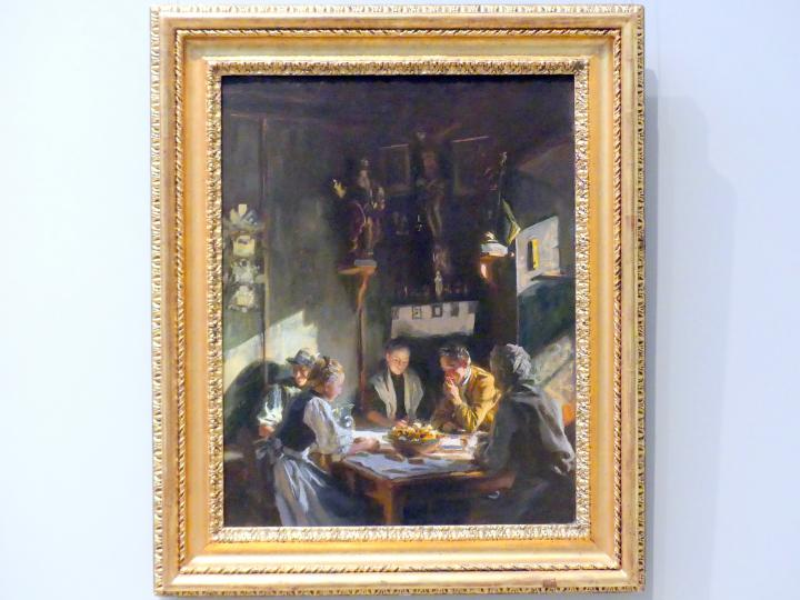 John Singer Sargent: Tiroler Interieur, 1915