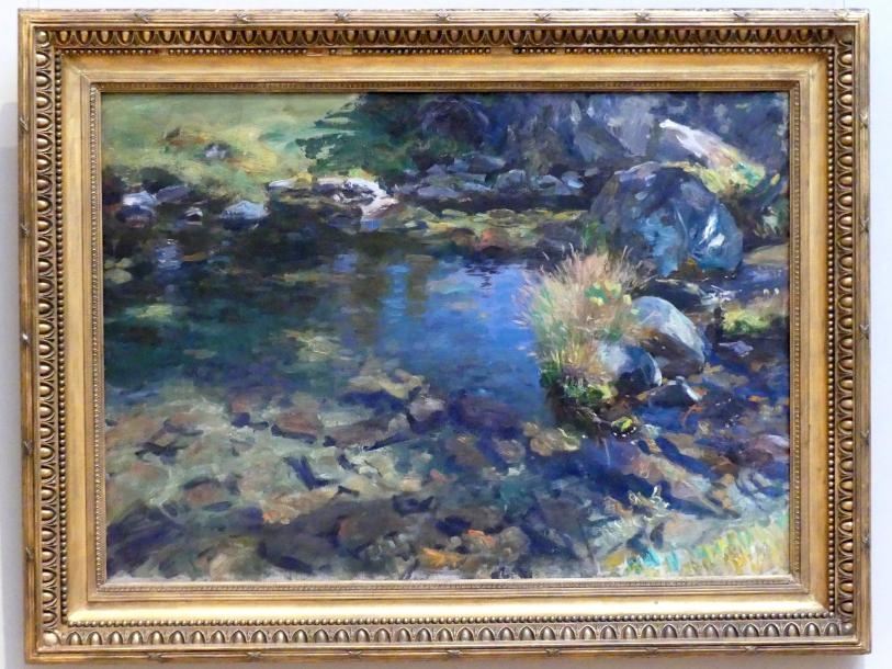 John Singer Sargent: Alpiner Pool, 1907