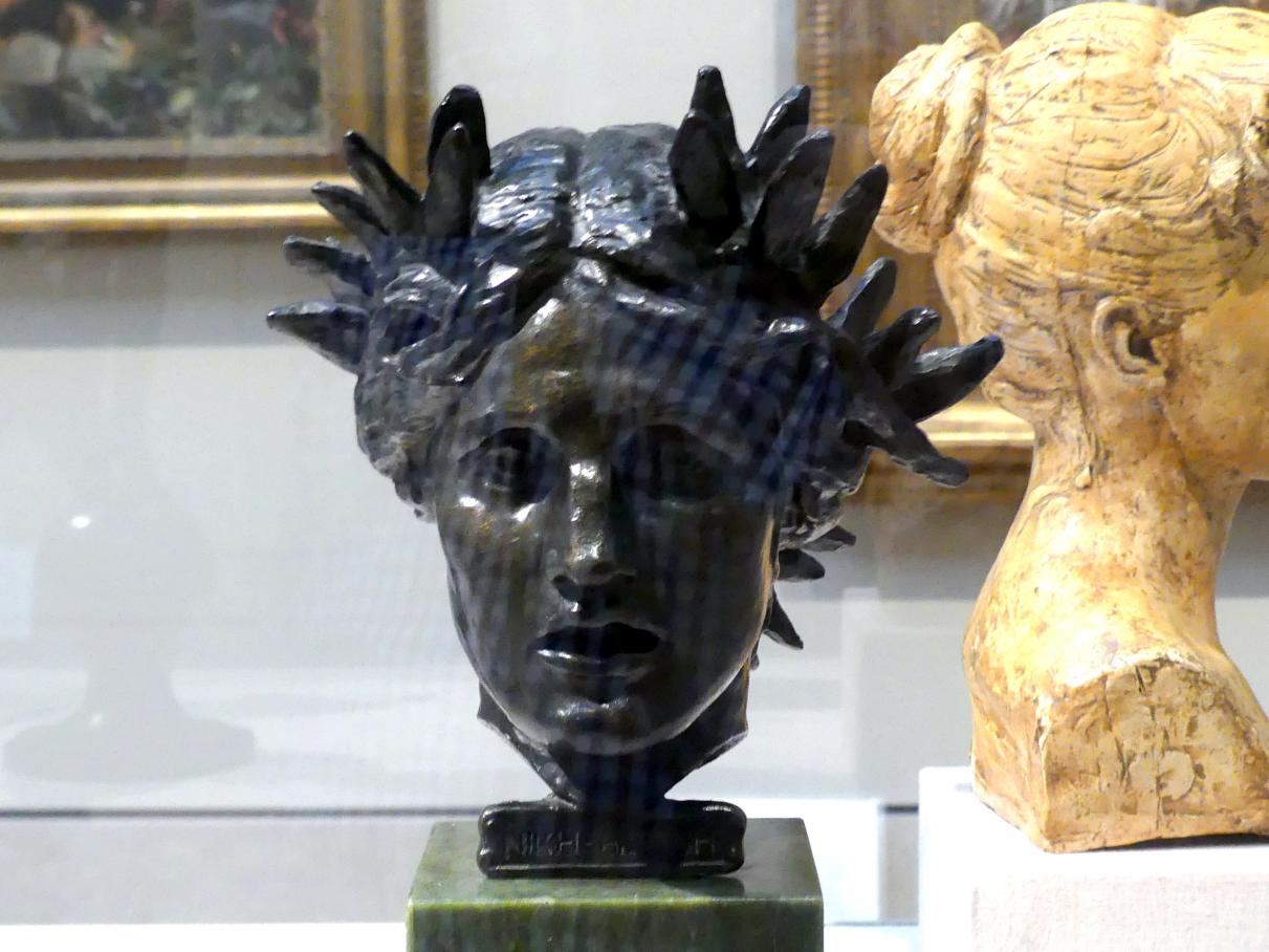 Augustus Saint-Gaudens: Kopf des Sieges, 1897 - 1903