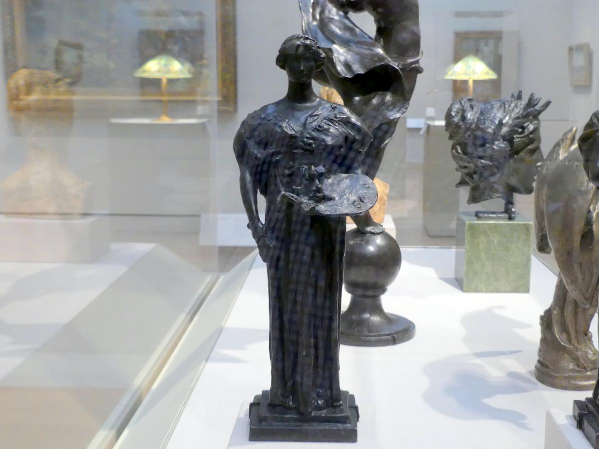 Daniel Chester French: Modell für eine Allegorie der Malerei und Bildhauerei, 1899