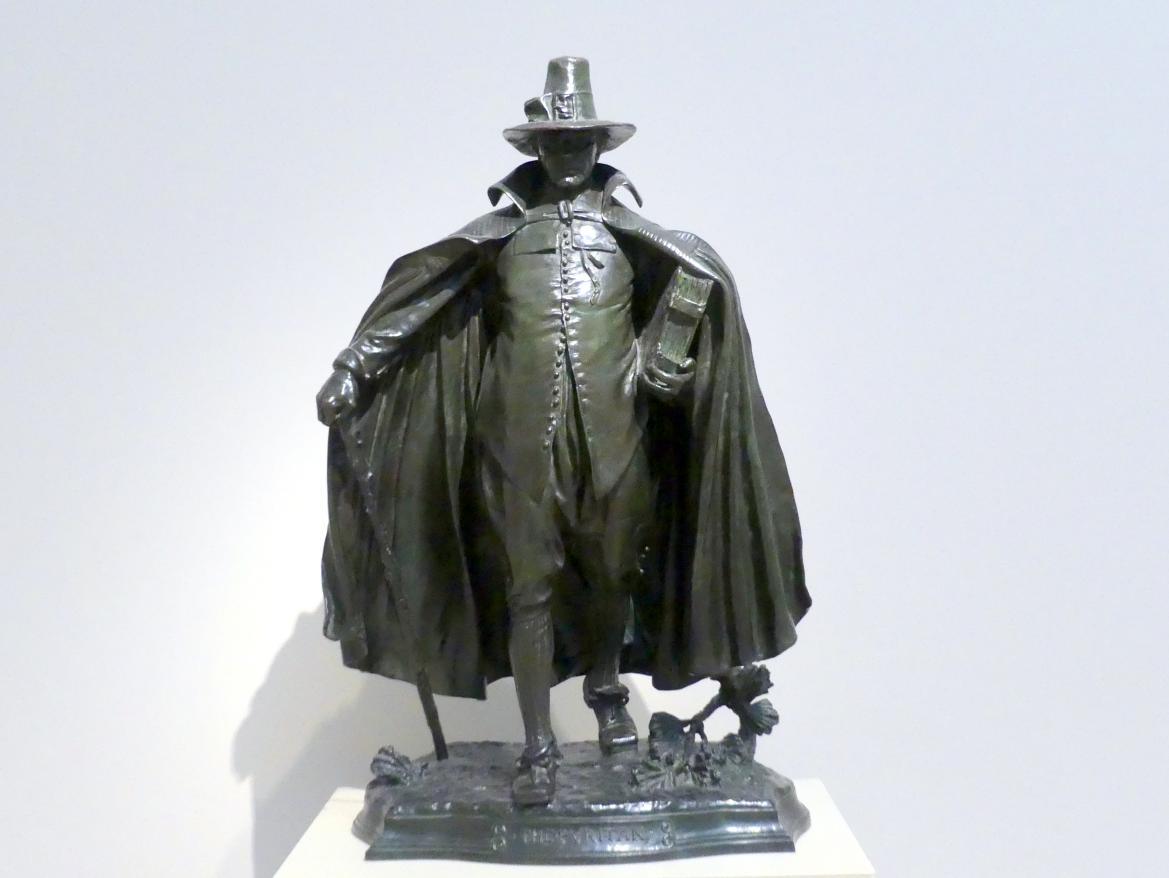 Augustus Saint-Gaudens: Der Puritaner, 1883 - 1886