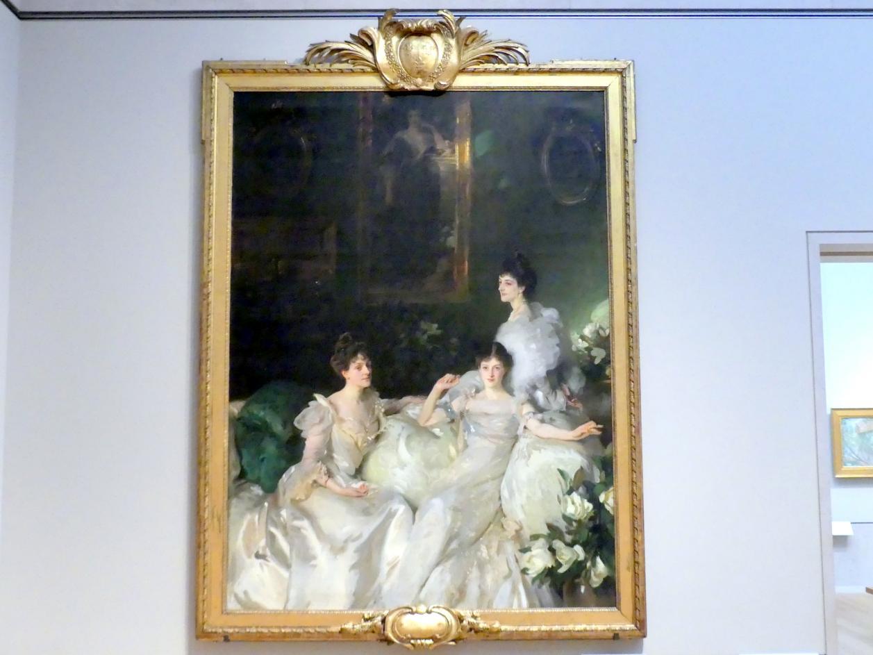 John Singer Sargent: Die Wyndham-Schwestern: Lady Elcho, Mrs. Adeane und Mrs. Tennant, 1899