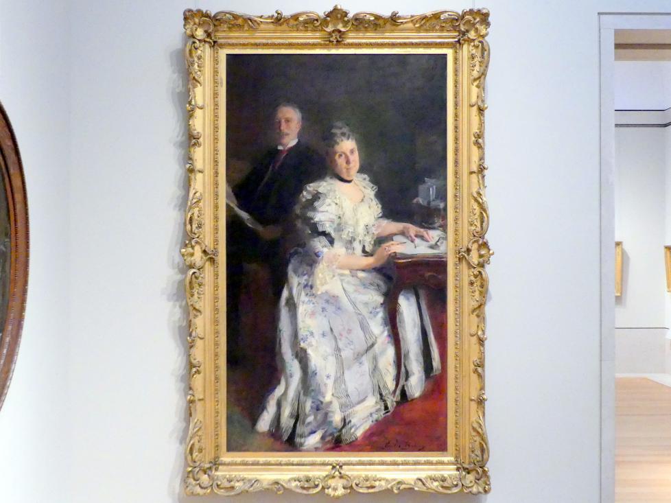 Cecilia Beaux: Herr und Frau Anson Phelps Stokes, 1898