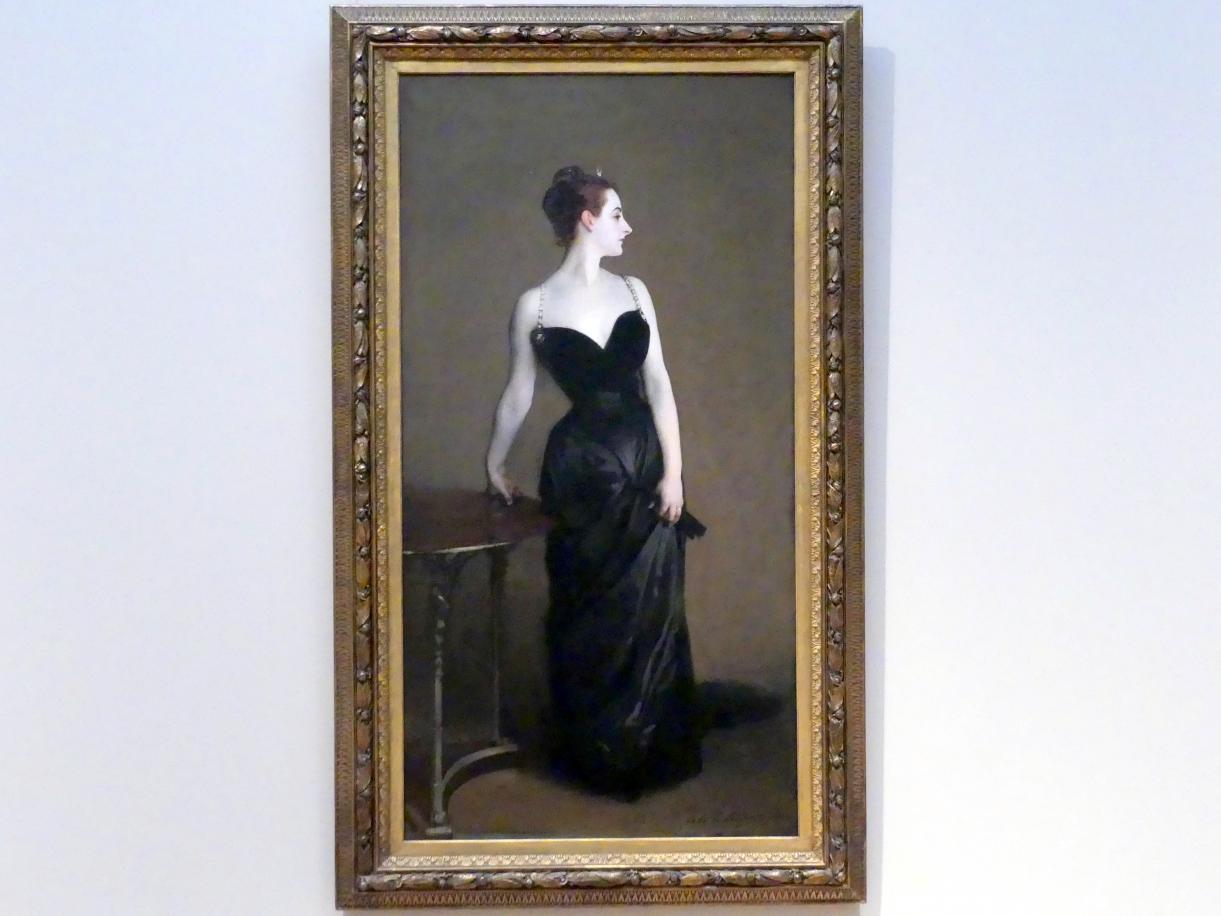 John Singer Sargent: Madame X (Madame Pierre Gautreau), 1883 - 1884