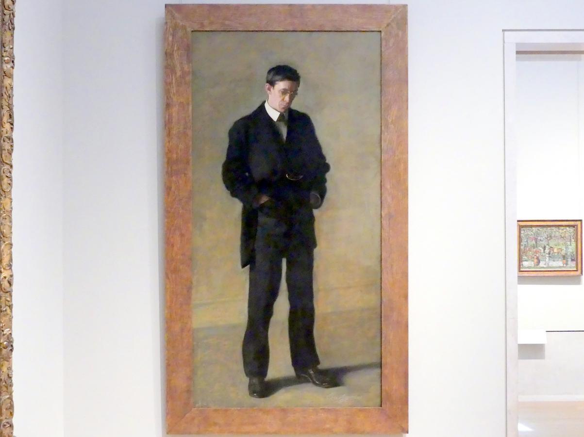 Thomas Eakins: Der Denker: Porträt von Louis N. Kenton, 1900