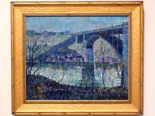 Ernest Lawson: Harlem River, um 1913