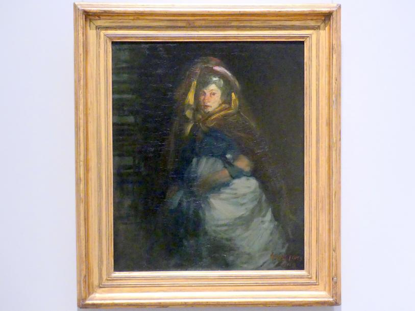 George Benjamin Luks: Die alte Herzogin, 1905