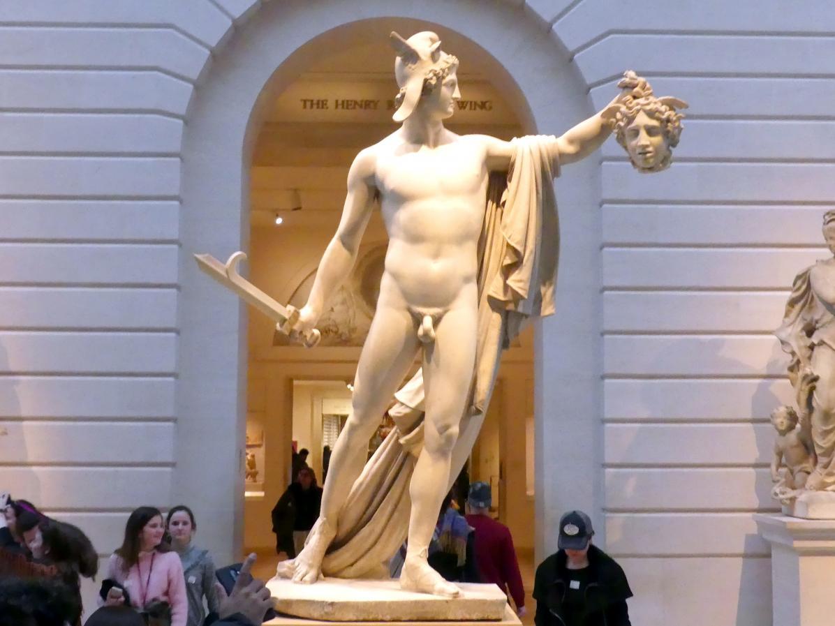 Antonio Canova: Perseus mit dem Kopf der Medusa, 1804 - 1806