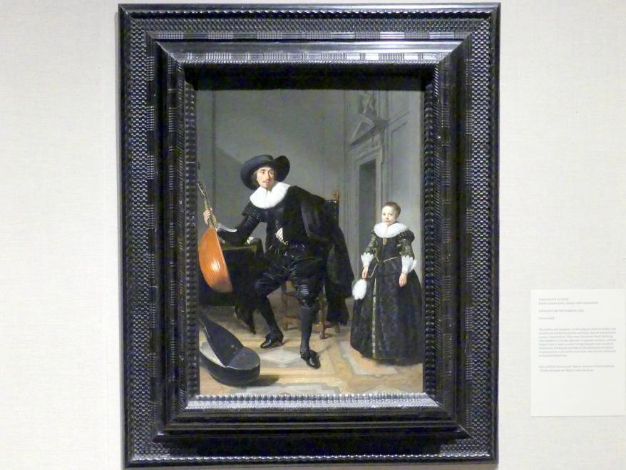 Thomas de Keyser: Ein Musiker mit seiner Tochter, 1629
