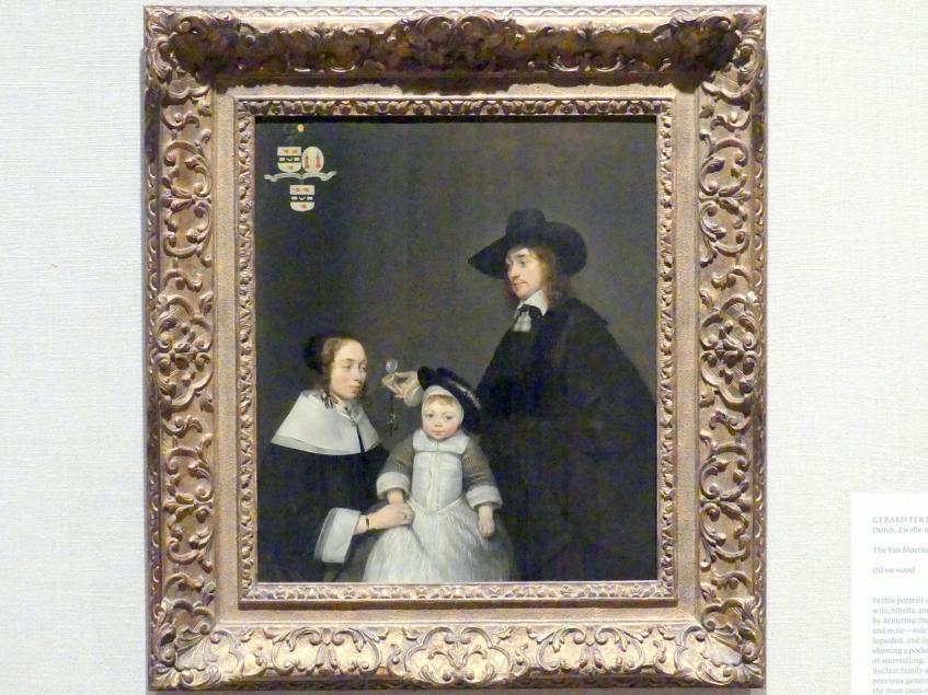 Gerard ter Borch: Die Familie Van Moerkerken, um 1653 - 1654