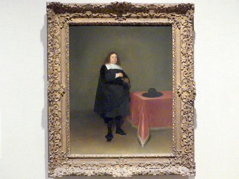 Gerard ter Borch: Bürgermeister Jan van Duren (1613-1678), um 1666 - 1667