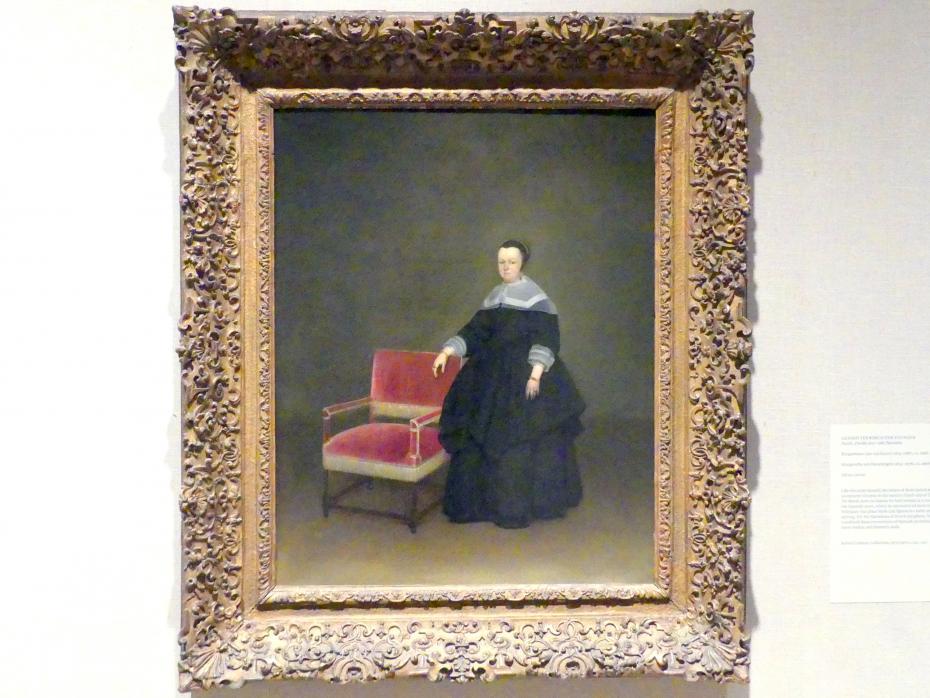 Gerard ter Borch: Margaretha van Haexbergen (1614-1676), um 1666 - 1667