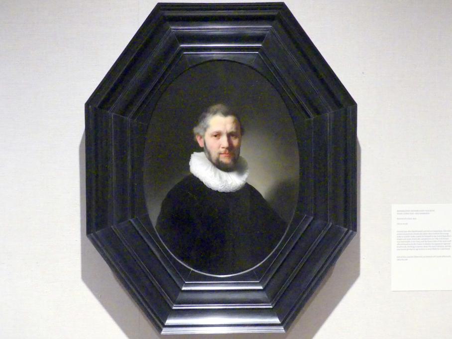 Rembrandt (Rembrandt Harmenszoon van Rijn): Bildnis eines Mannes, 1632
