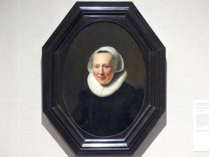 Rembrandt (Rembrandt Harmenszoon van Rijn): Bildnis einer Frau, 1633