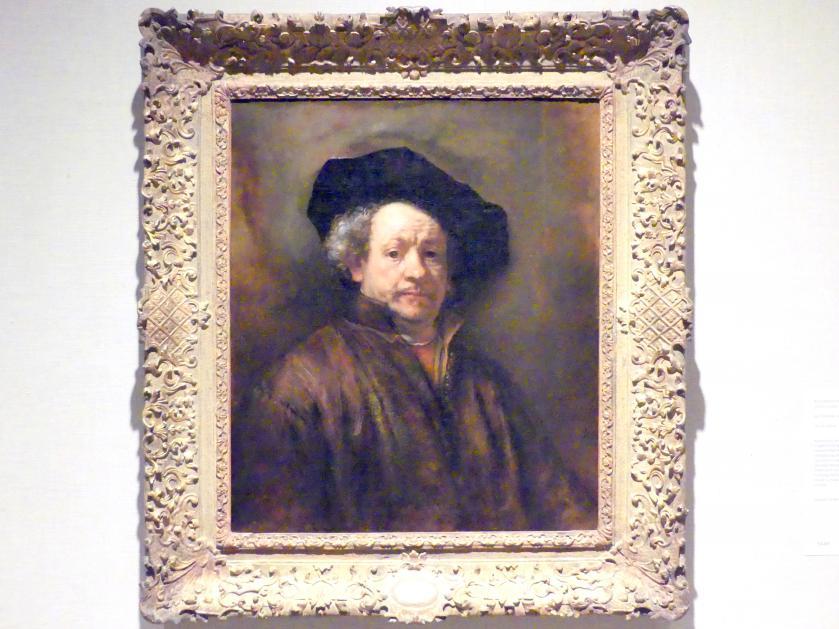 Rembrandt (Rembrandt Harmenszoon van Rijn): Selbstporträt, 1660