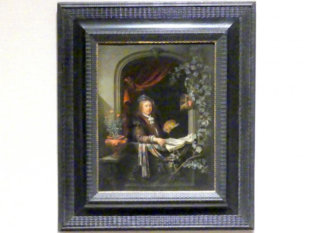 Gerard Dou (Gerrit Dou): Selbstporträt, um 1665