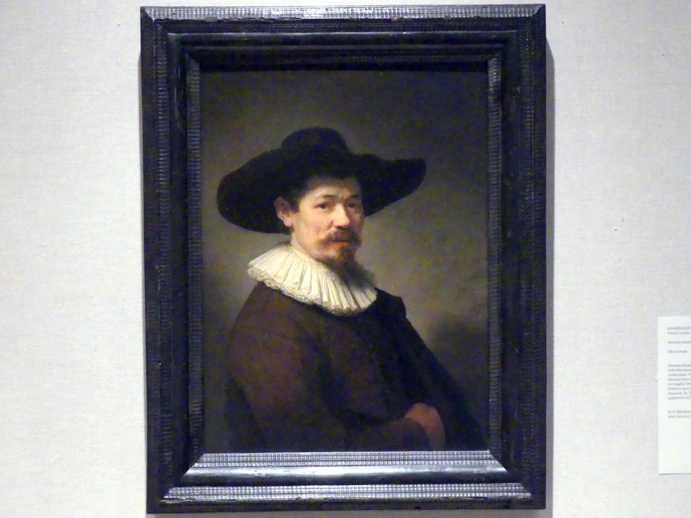 Rembrandt (Rembrandt Harmenszoon van Rijn): Herman Doomer (ca. 1595-1650), 1640