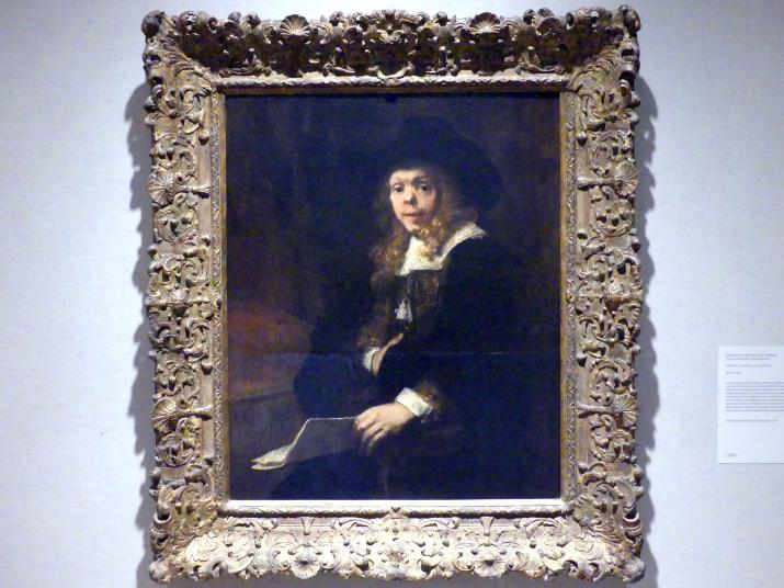 Rembrandt (Rembrandt Harmenszoon van Rijn): Porträt von Gerard de Lairesse (1641-1711), 1665 - 1667