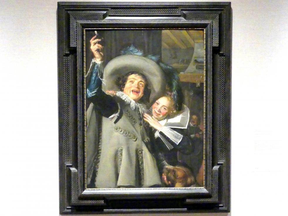 Frans Hals: Junger Mann und Frau in einer Kneipe, 1623