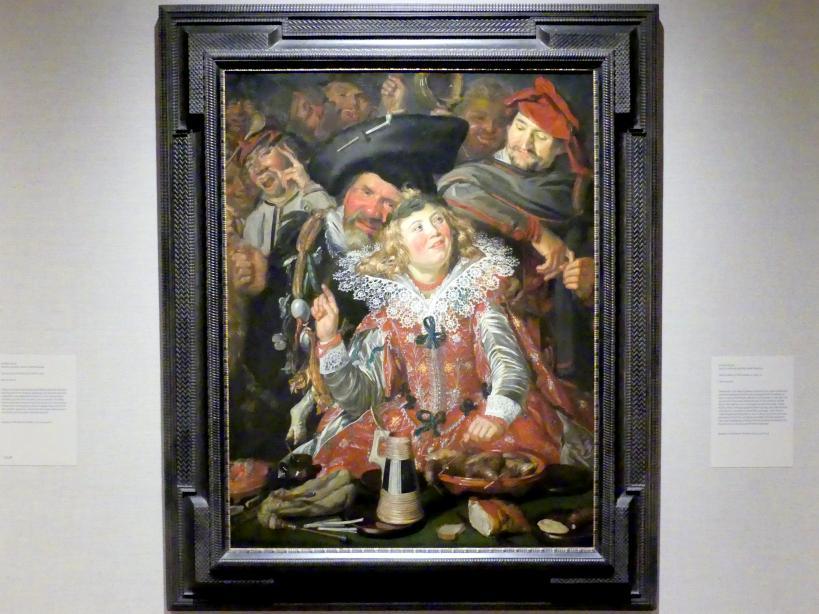 Frans Hals: Merrymakers at Shrovetide - Faschingsliebhaber, um 1616 - 1617