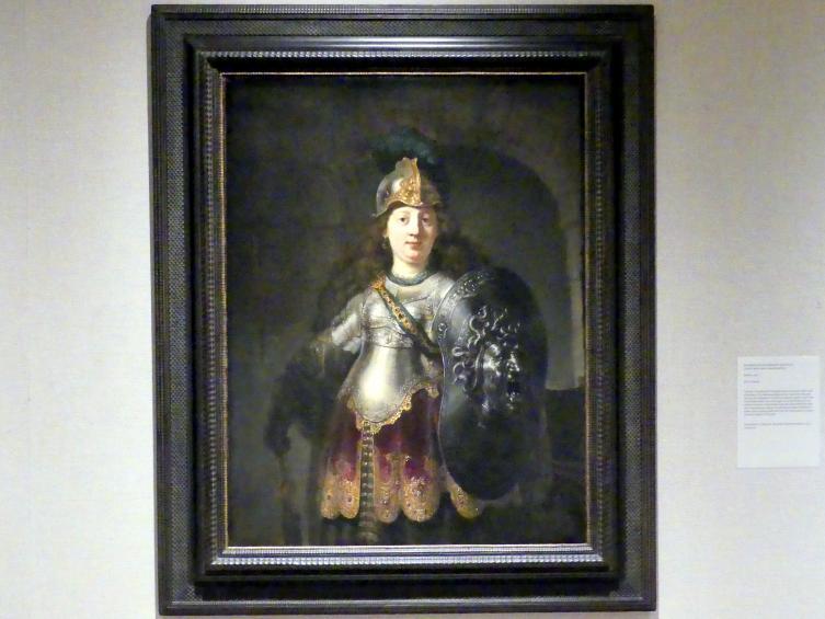 Rembrandt (Rembrandt Harmenszoon van Rijn): Bellona, 1633