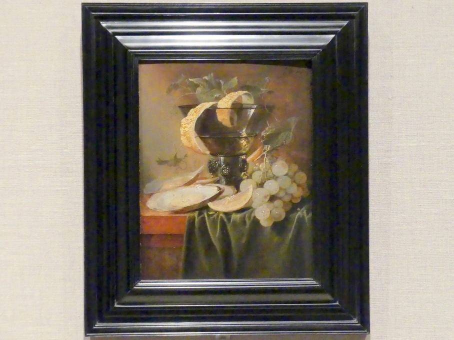 Jan Davidsz. de Heem: Stillleben mit Glas und Austern, um 1640