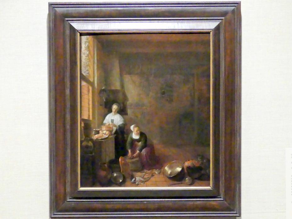 Hendrick Martensz. Sorgh: In der Küche, um 1643