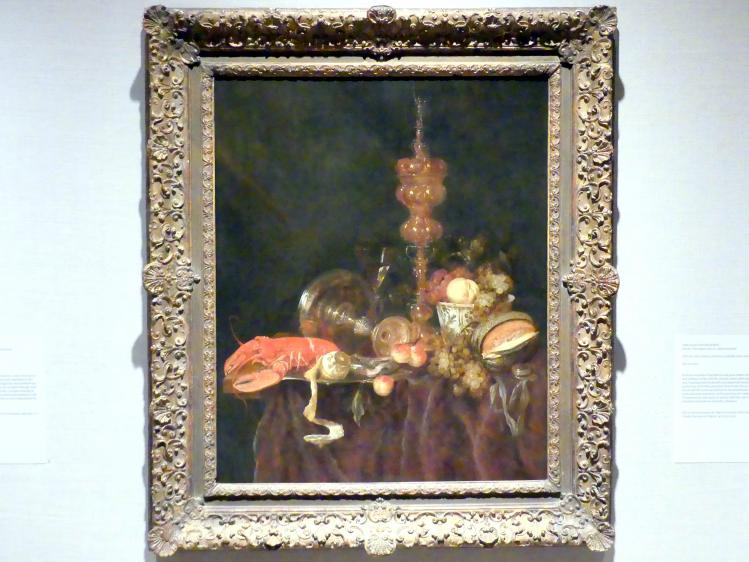 Abraham van Beyeren: Stillleben mit Hummer und Obst, um 1650 - 1653