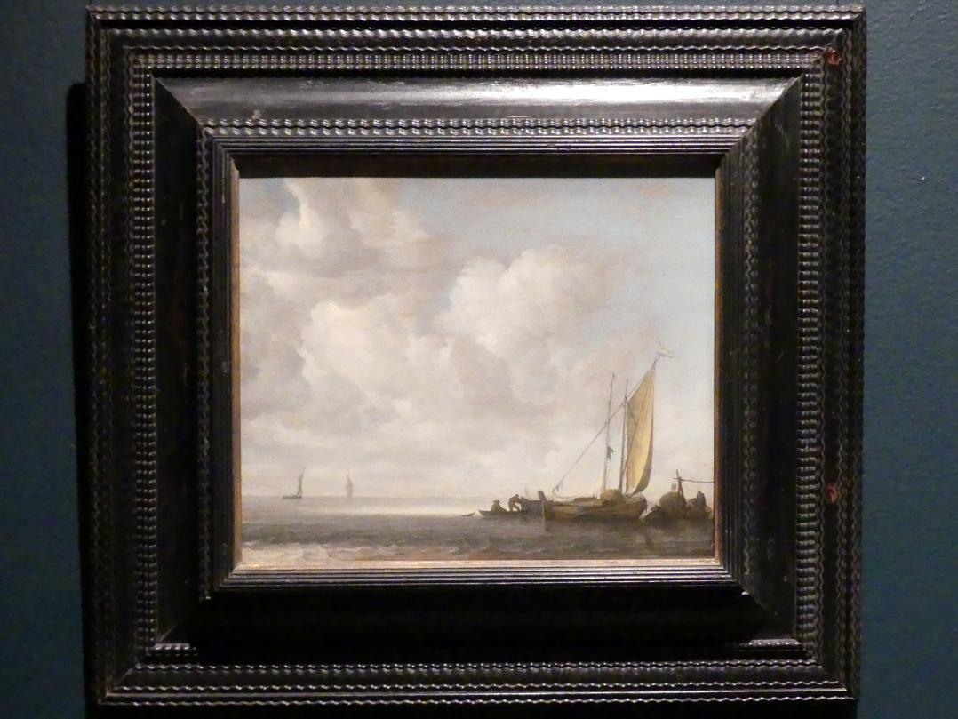 Simon de Vlieger: Ruhige See, nach 1640