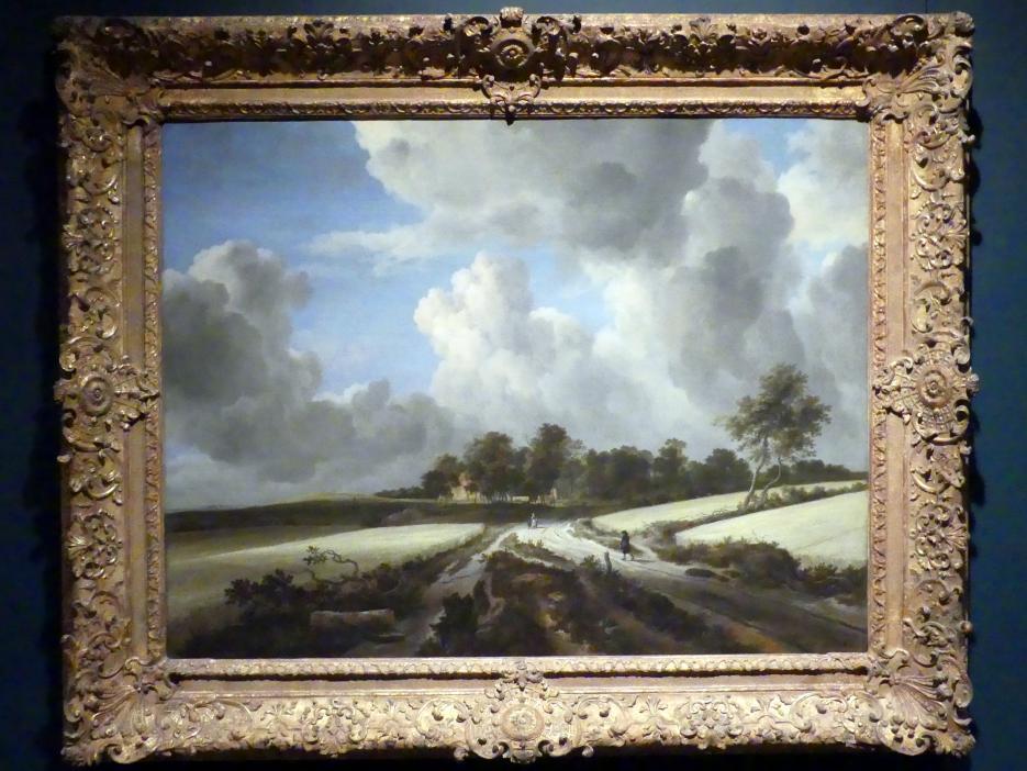 Jacob van Ruisdael: Weizenfelder, um 1670